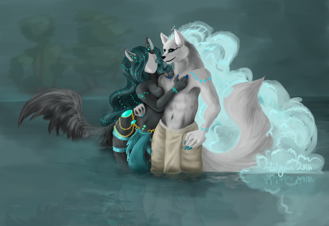 River Gods by Adalgeuse