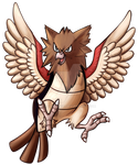 Type Collab - Normal - Spearow by Adalgeuse