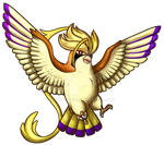 Type Collab - Normal - Mega Pidgeot Shiny by Adalgeuse