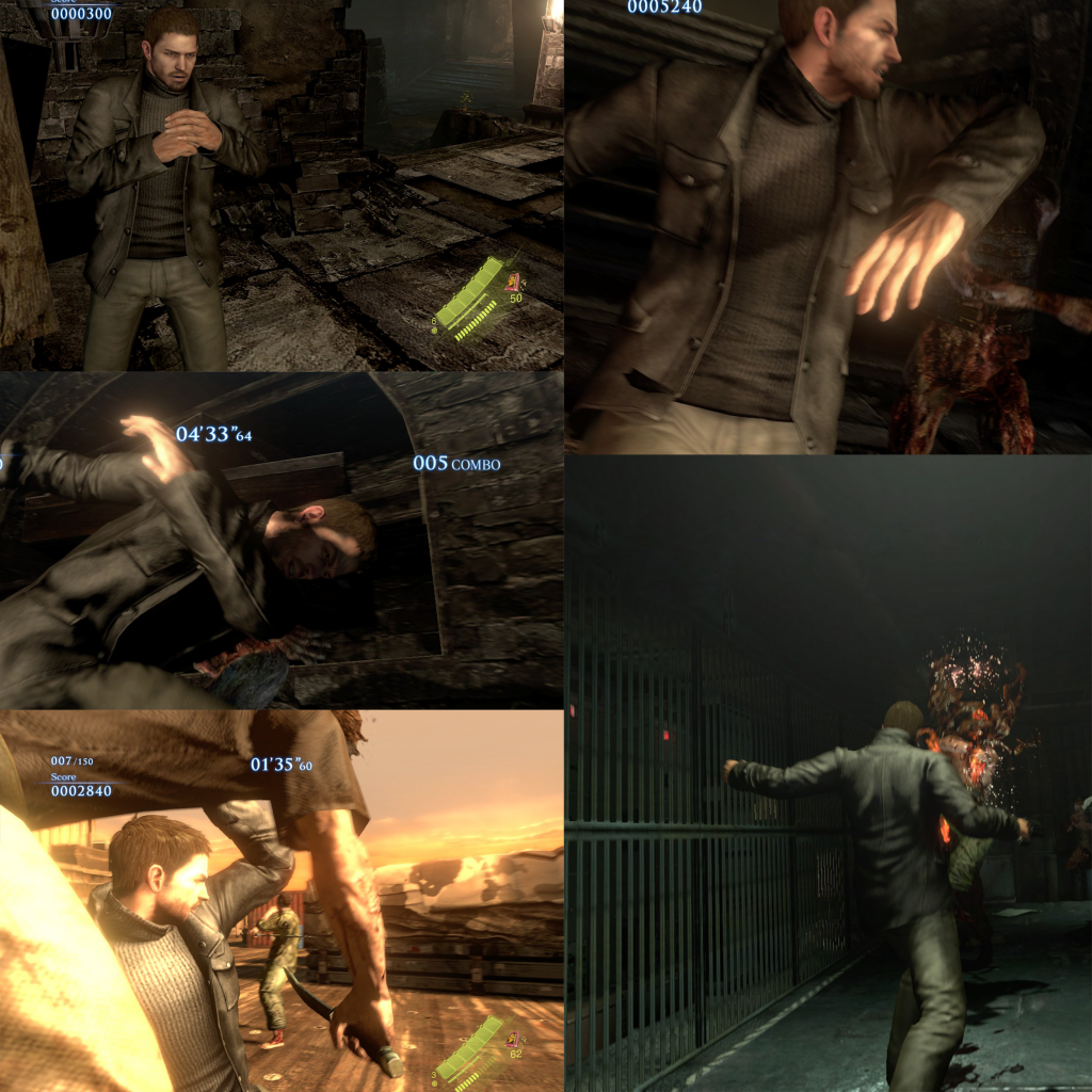 Resident Evil 6 - Chris Bar Mod By Snipz and Evil by Snipzu