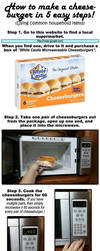 How to Make a Cheeseburger in 5 Easy Steps! by eviltomp