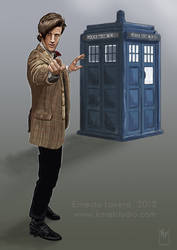 Doctor Who by ernestlovera