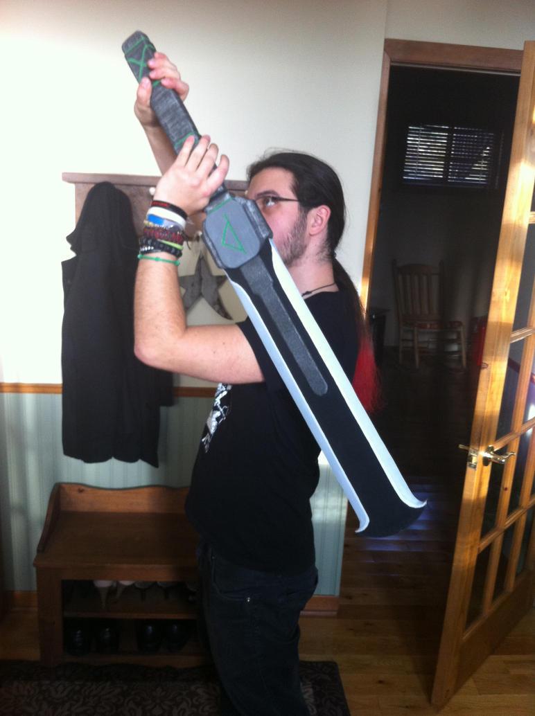 Big man, Big Sword. by Devtan-Army