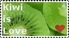Kiwi Love Stamp I by DarkFireRaven