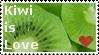 Kiwi Love Stamp I by DarkFireRaven