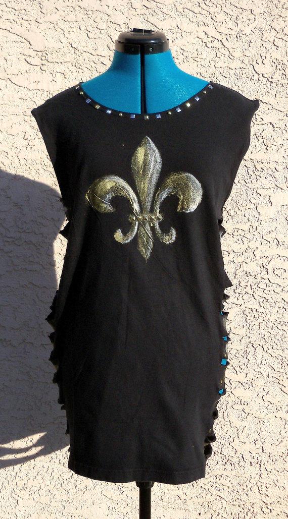 Hatatose Collection - Black Fleur de Lis Minidress by DarkFireRaven