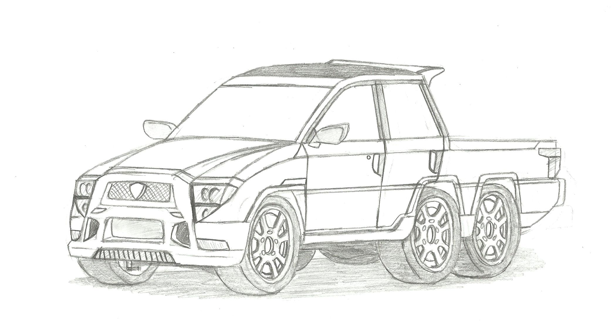 Proton Pickup Truck by Fizzle-Knight