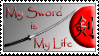 My Sword is My Life Stamp by dragonlancer13