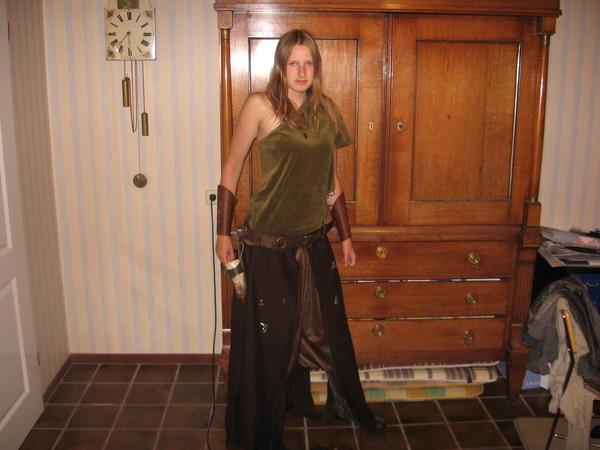 Dragon Huntress Costume by Aswulf