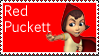 Red Puckett Stamp by espioluvver
