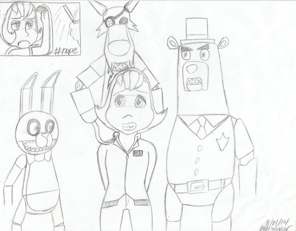 Five Nights At Boingo's Lair (HW/FNAF Crossover) by espioluvver