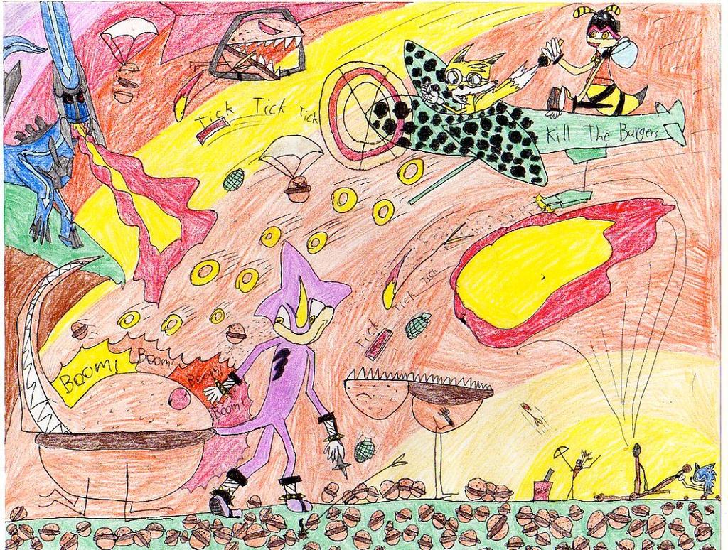 The Cheeseburger War by espioluvver