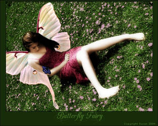 Butterfly Fairy by angelbunnyart