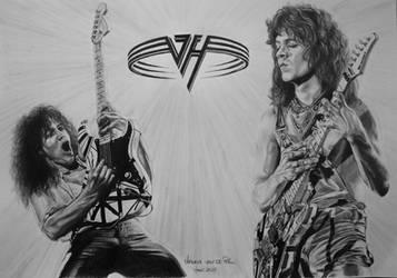 Eddie van Halen by Laura10June