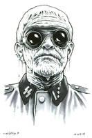 Nazi Zombie by ByronWinton