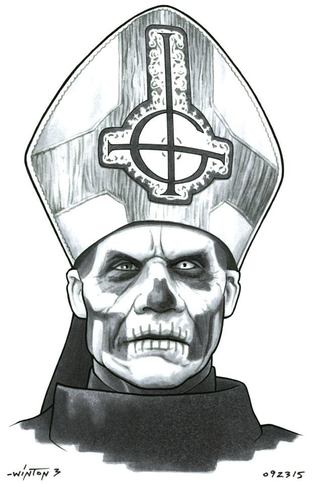 Papa Emeritus II by ByronWinton on DeviantArt
