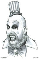 Captain Spaulding by ByronWinton