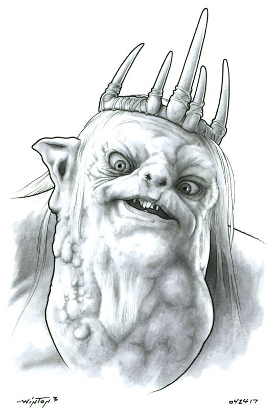 Great Goblin by ByronWinton
