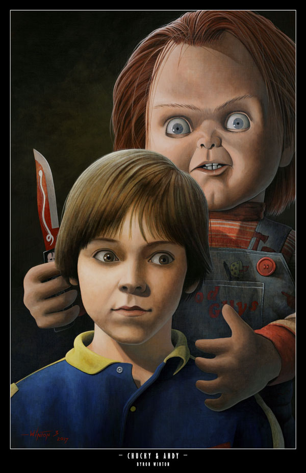 Chucky and Andy by ByronWinton