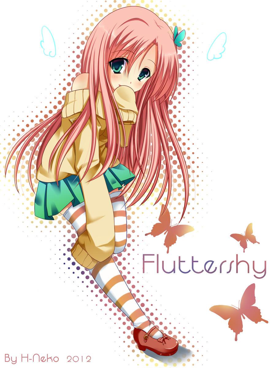 Fluttershy by H--neko