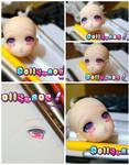 Custom Anime Obitsu- Sweet shiny eyes