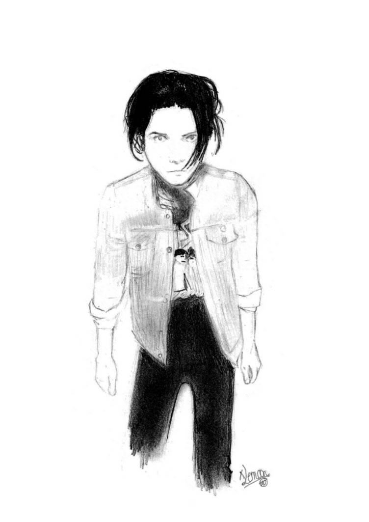 Gerard Way Portrait