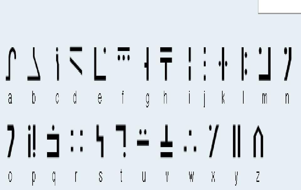 Minecraft Enchant Alphabet