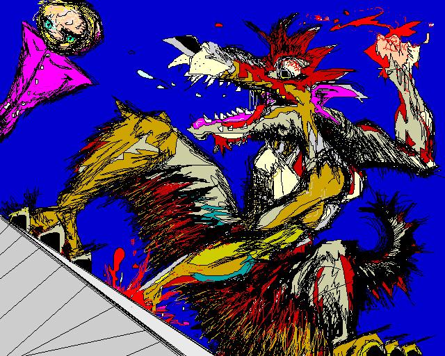 Wolf Beat - MS Paint poop