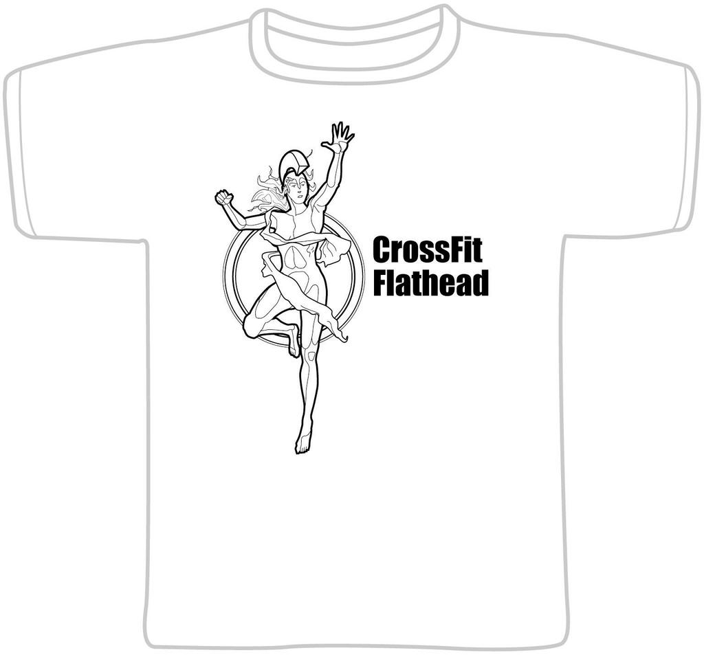 Crossfit tshirt female