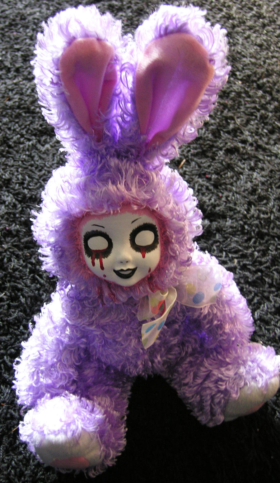 Scary Easter Bunny Photos So wrong easter bunny on