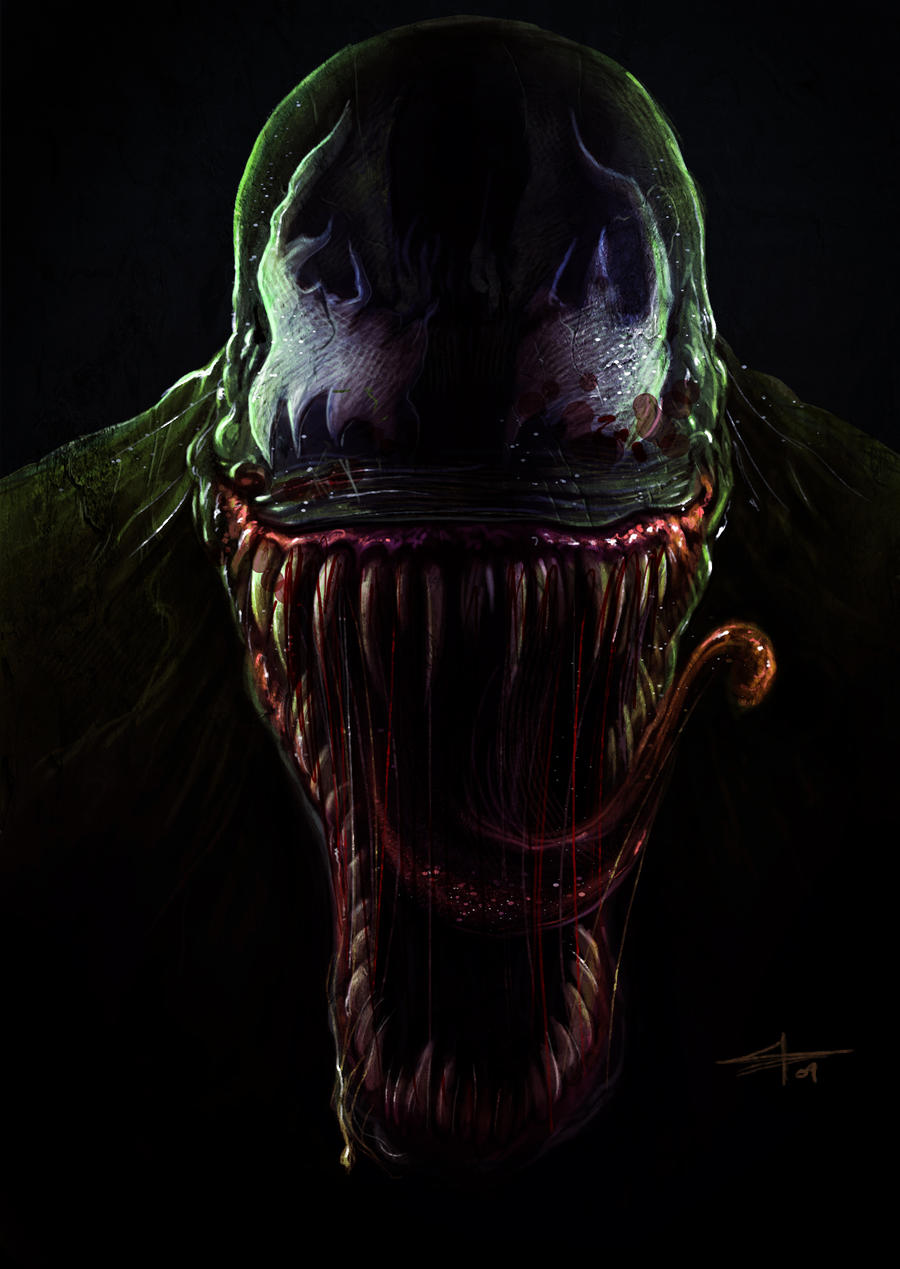 venom by saadirfan on deviantart