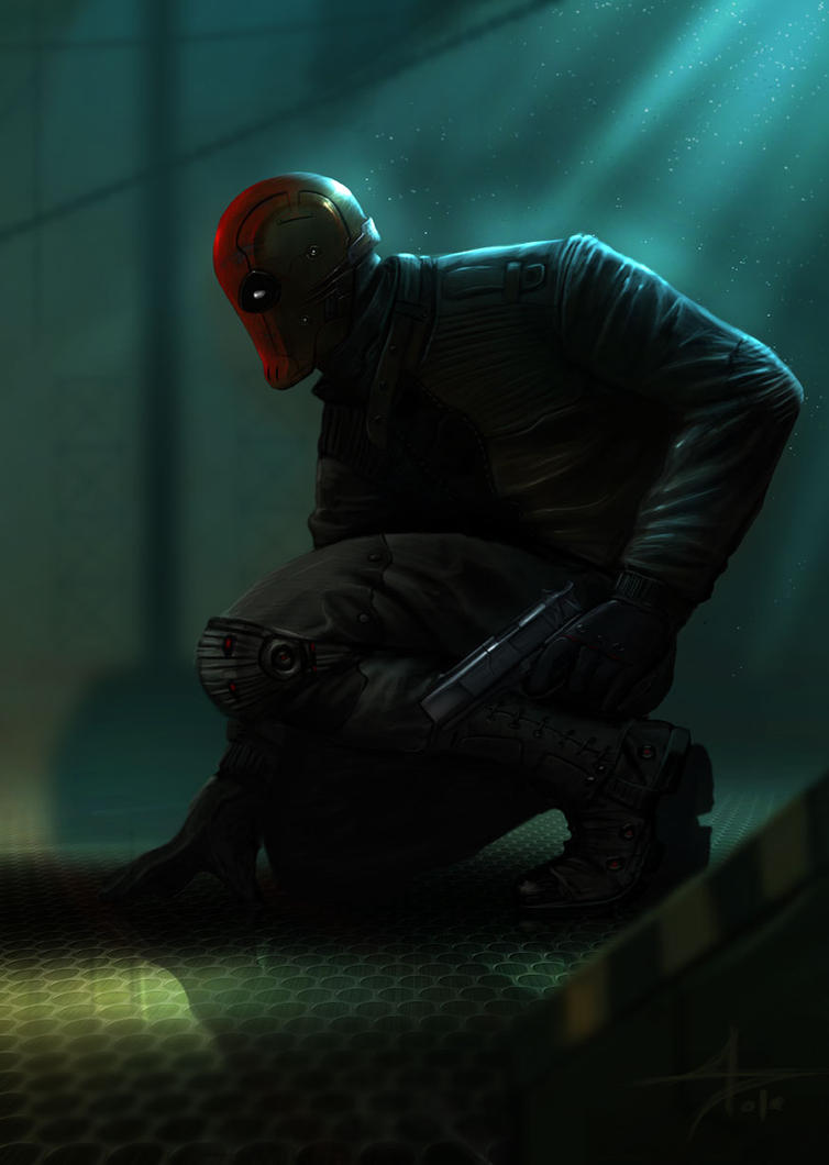 red hood by saadirfan