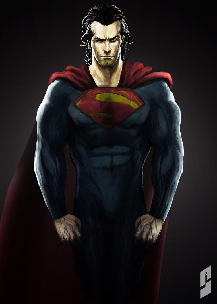 Superman by saadirfan