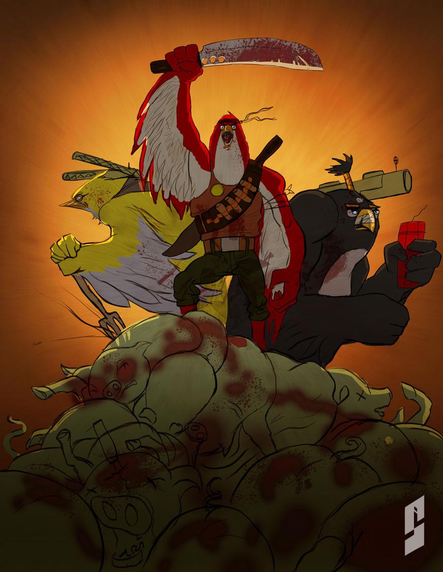 Angry birds 2.0 by saadirfan