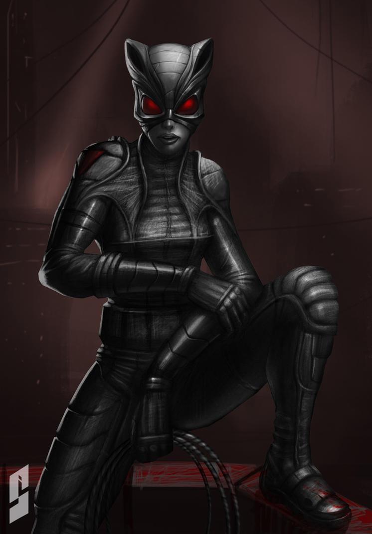 Catwoman by saadirfan