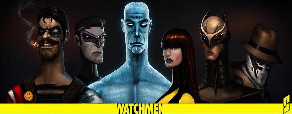Watchmen by saadirfan