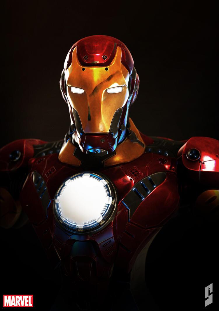 Iron man by saadirfan