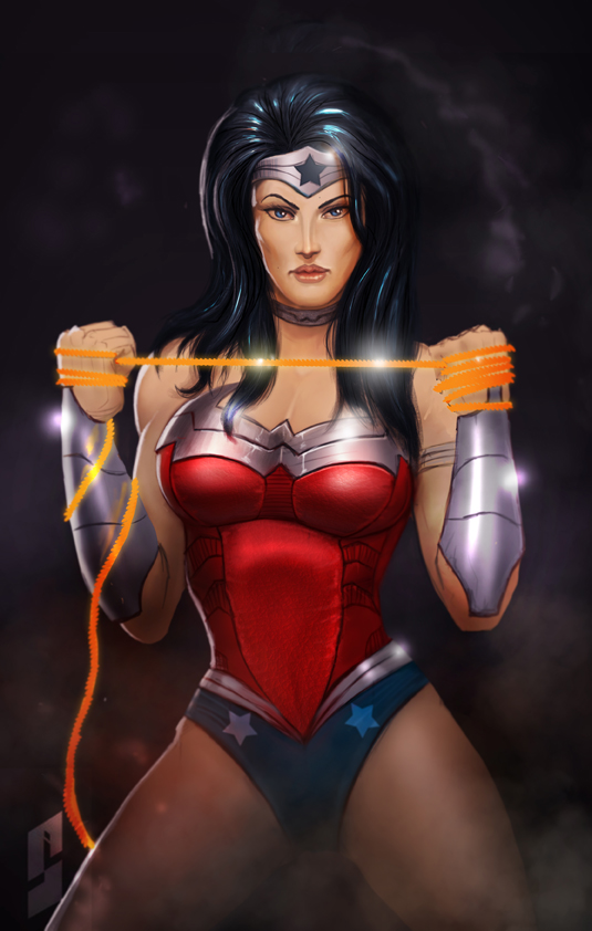 wonder woman by saadirfan