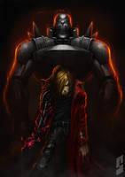Fullmetal alchemist by saadirfan