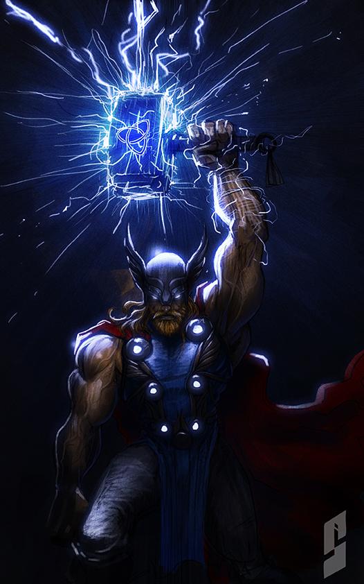 Thor by saadirfan