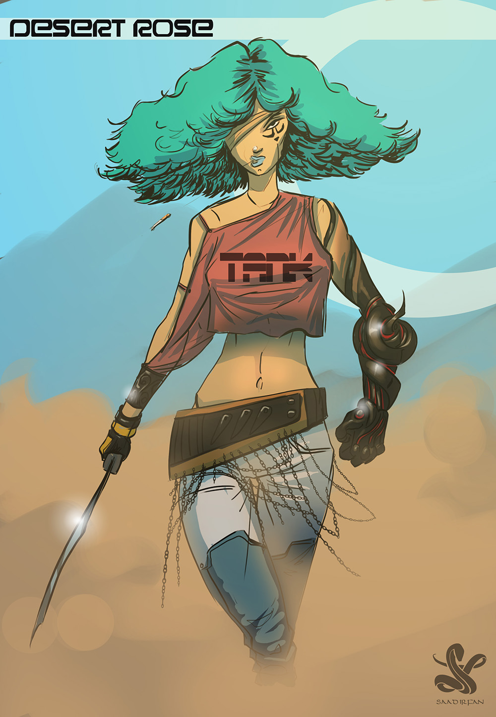 Desert Rose by saadirfan