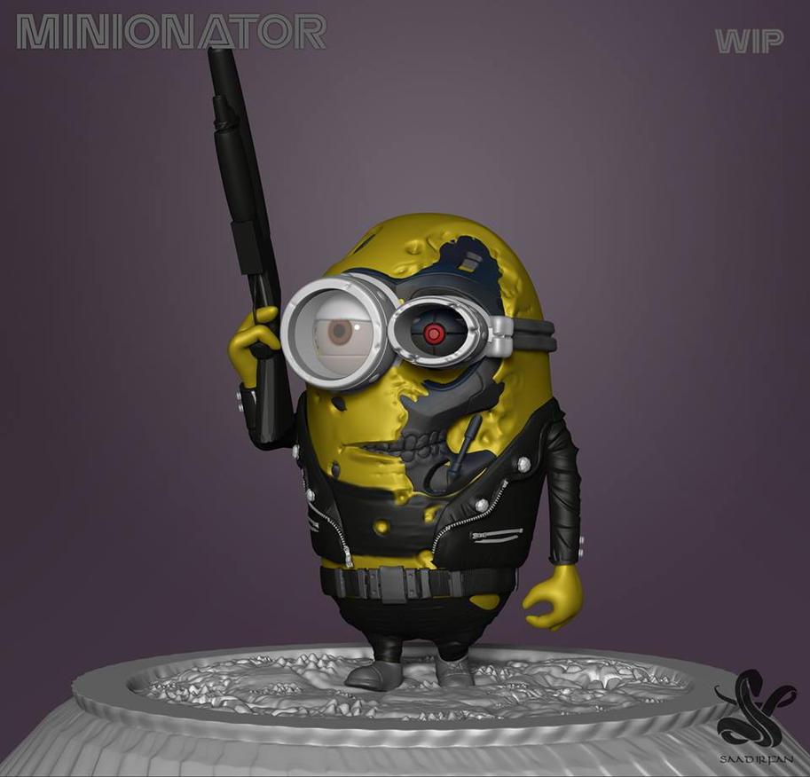 Minionator by saadirfan
