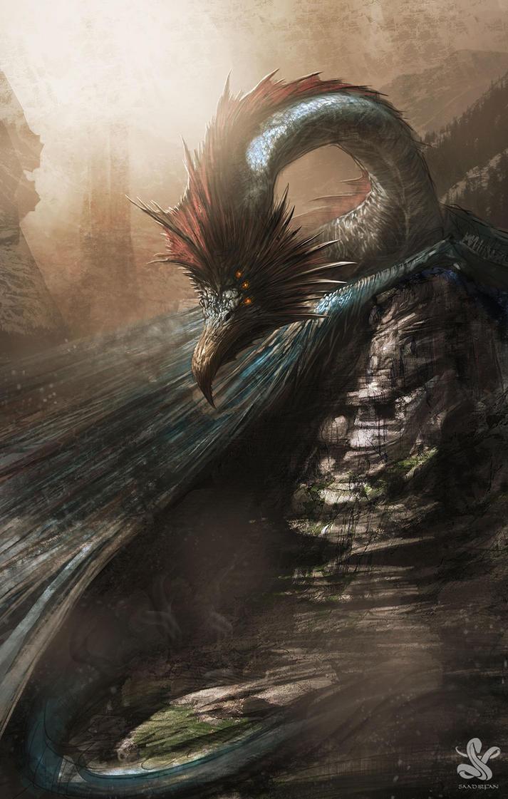 Dragon by saadirfan