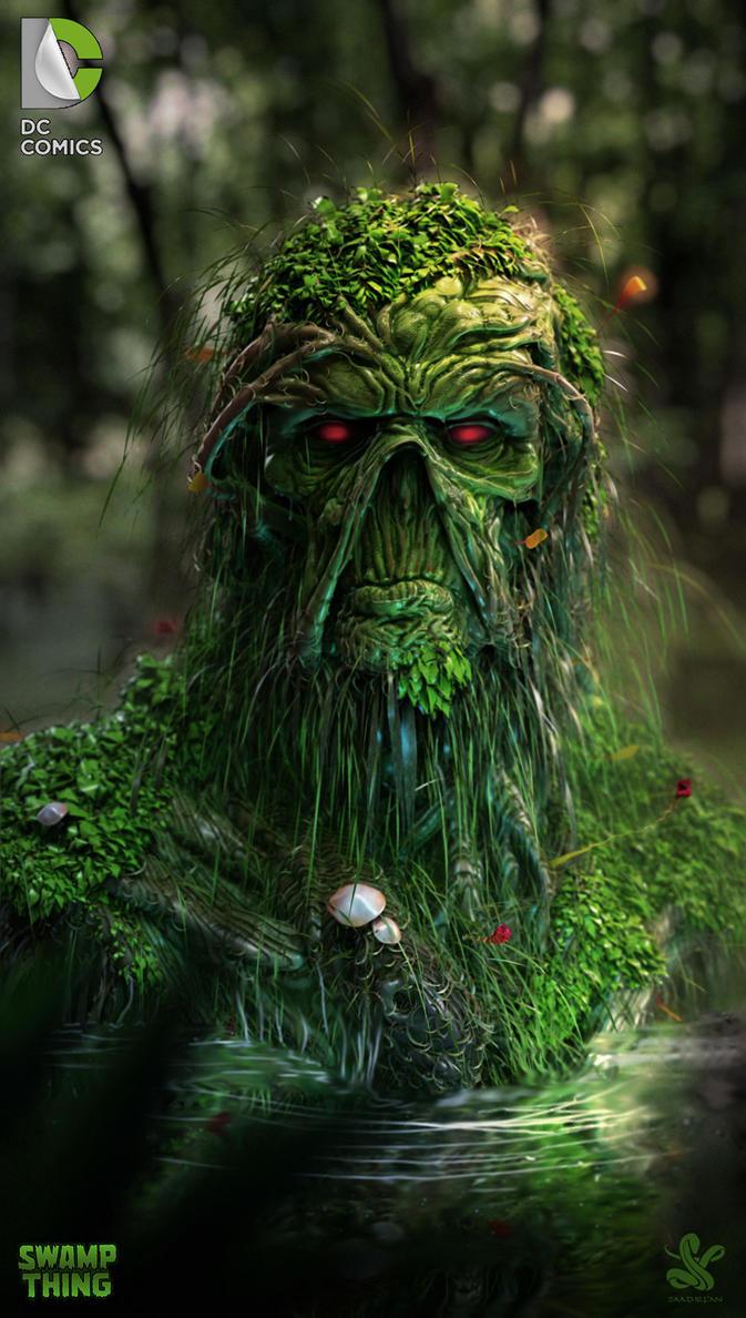 swampthing by saadirfan