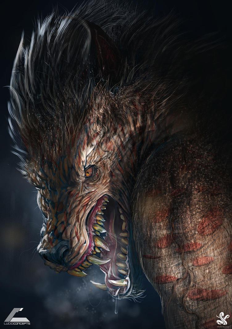 Werewolf00 by saadirfan