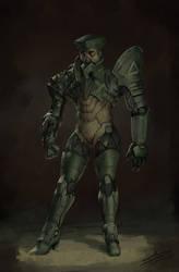 Cyborg by saadirfan