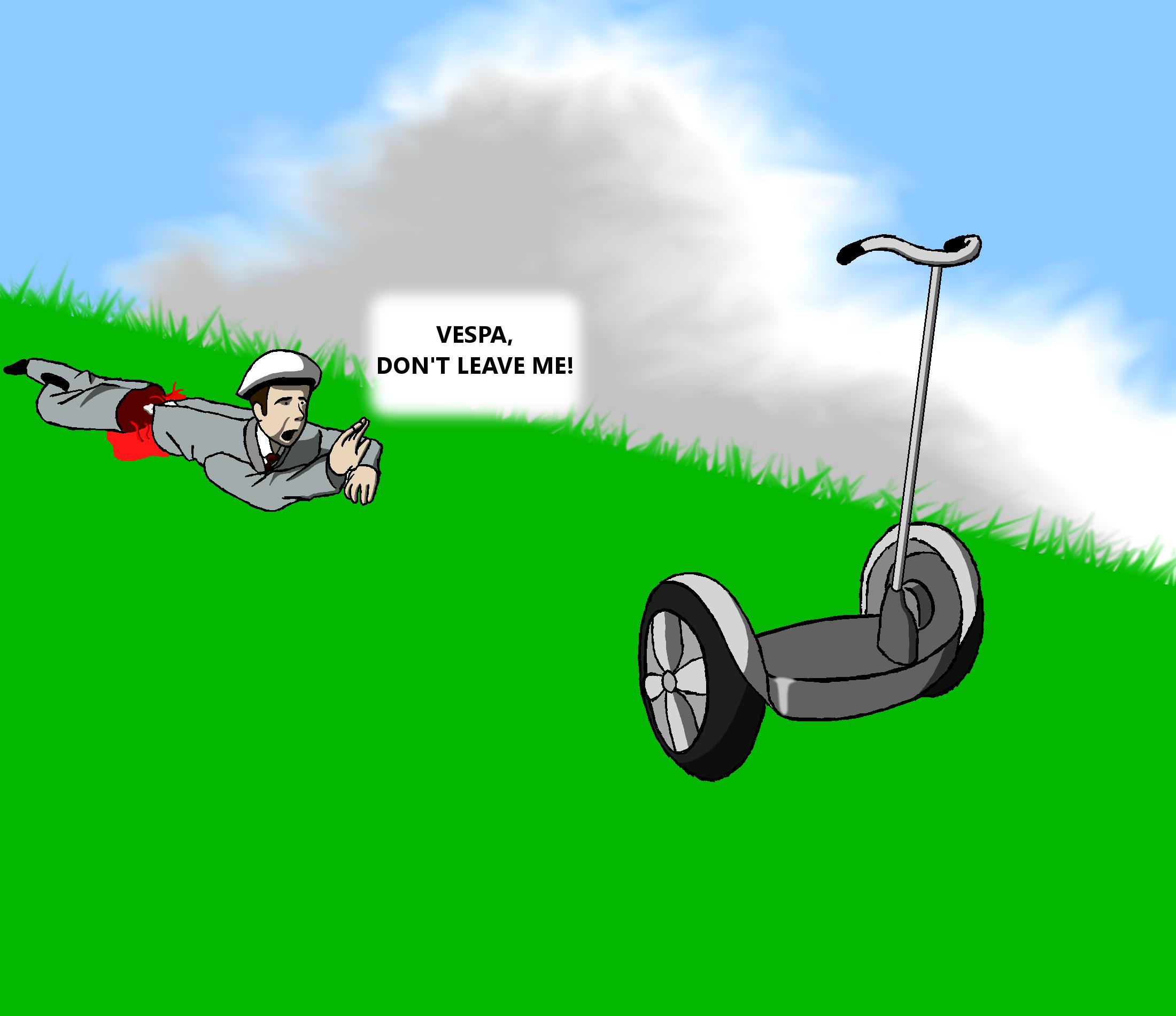 Happy Wheels Segway Guy By 3000 Fancazzista On Deviantart