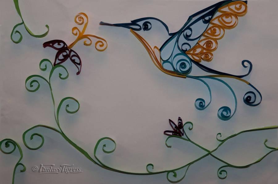 Humming Bird by Fantasytigress