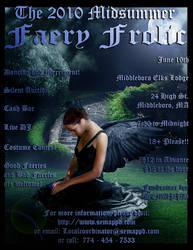 Faery Frolic 2010 Poster by critelli