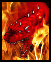Dragon's Breath by critelli
